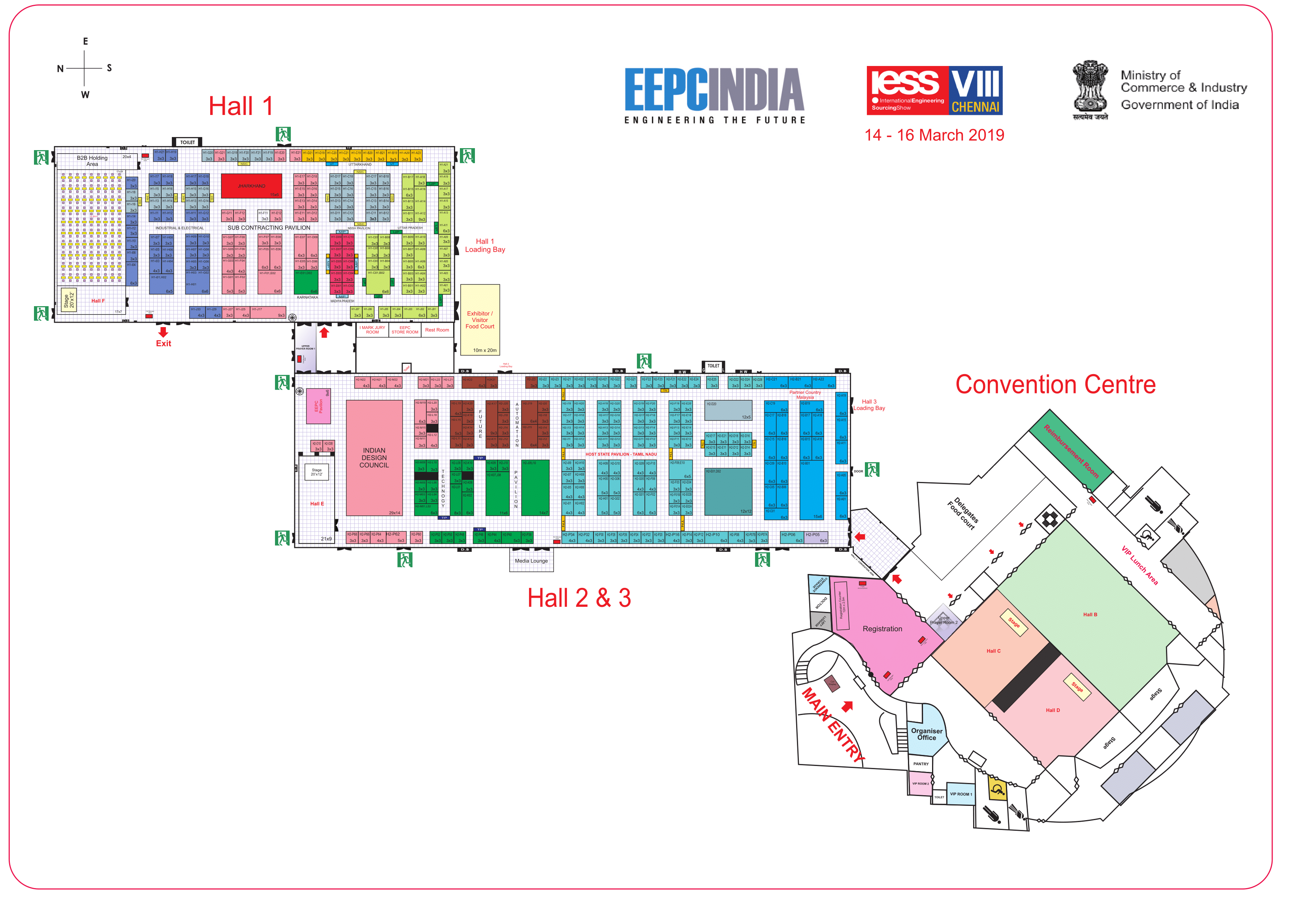 IESS VIII Venue Layout
