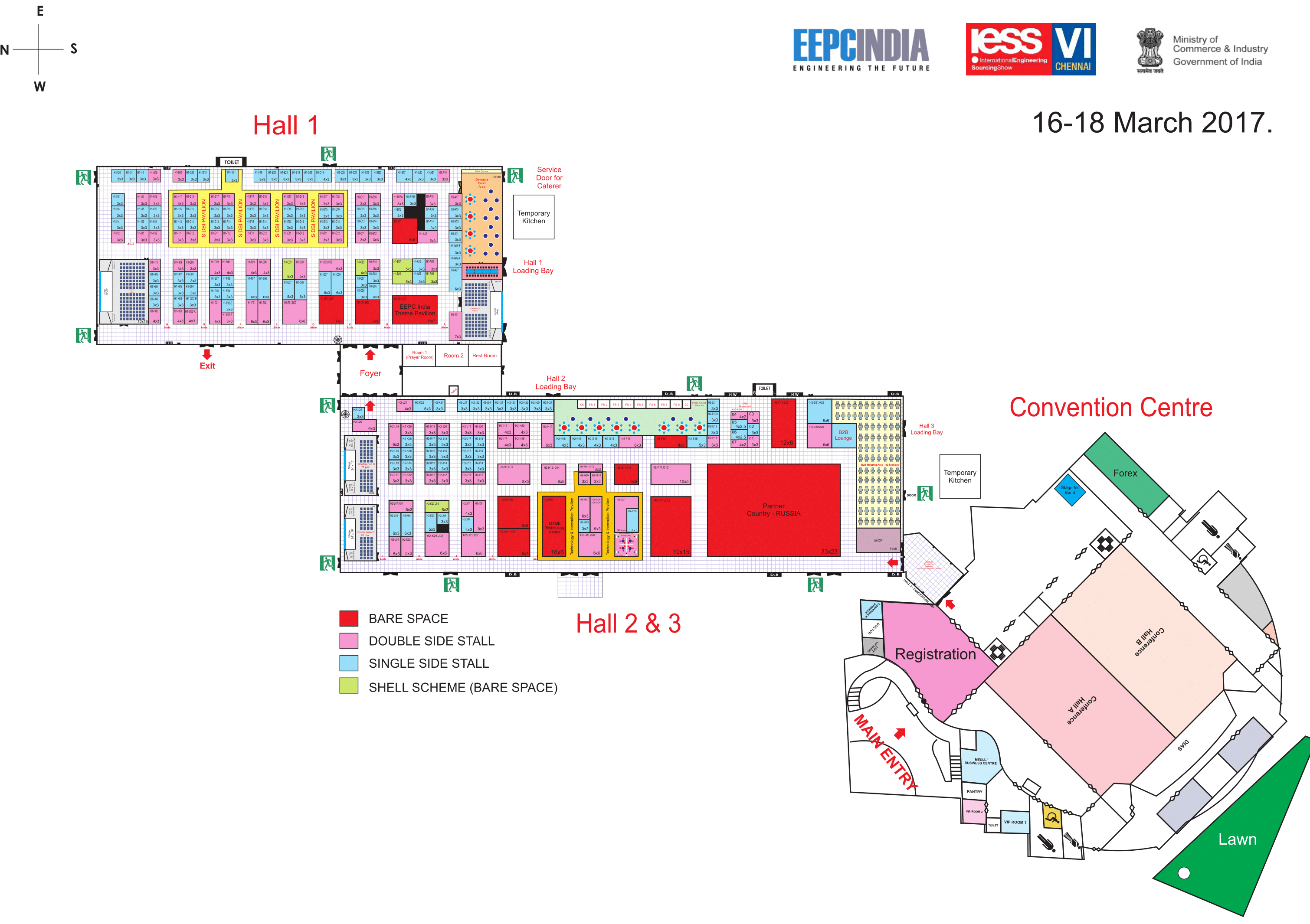 IESS VI Venue Layout