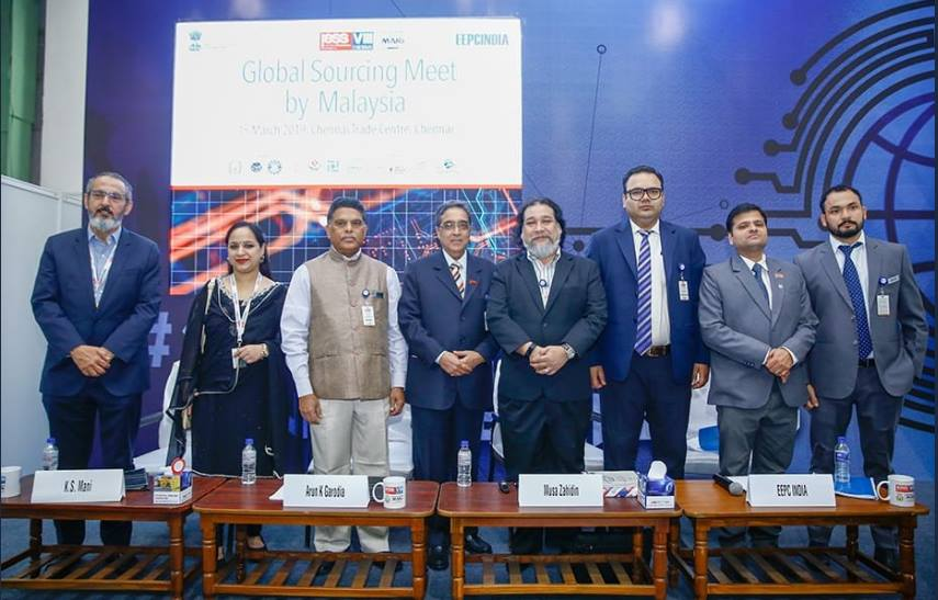 Malaysia based PERODUA and President of Perodua Supplier Association addressed the Global Sourcing Meet by Malaysia at IESS 2019 (an EEPC India show)